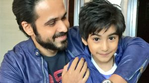 Эмран с сыном Аяном