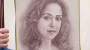 Хема Малини портрет