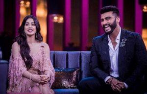 Арджун Капур и Джанви Капур на ток-шоу Карана Джохара