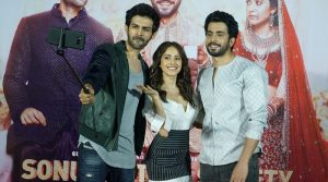 kartik-aaryan-nushrat-bharucha-sunny-singh-nijjar-at-the-trailer-launch-of-film-sonu-ke-tittu-ki-sweety