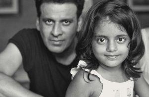 Manoj Bajpayee with his daughter
