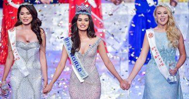 Титул Мисс Мира 2017 завоевала индианка Мануши Чхиллар