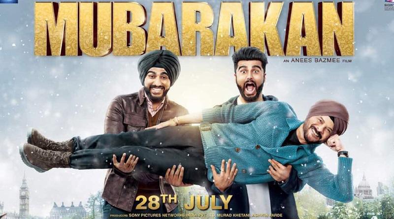 Индийский фильм Mubarakan