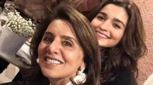 Алия Бхатт с матерью Ранбира Капура, Ниту Сингх