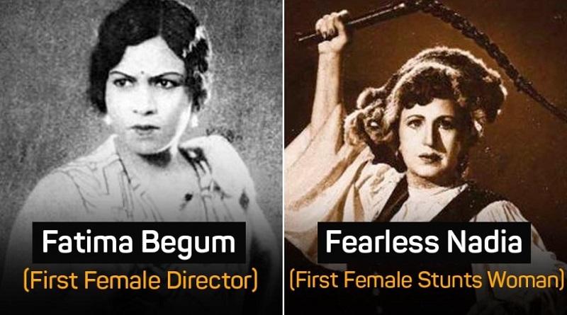 Первые женщины в индийском кино