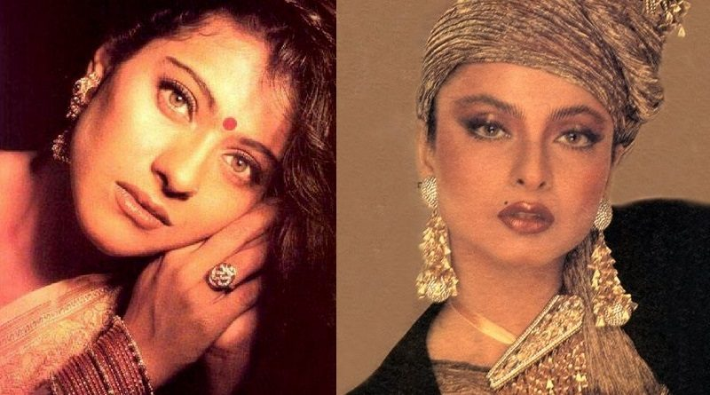 Kajol and Rekha
