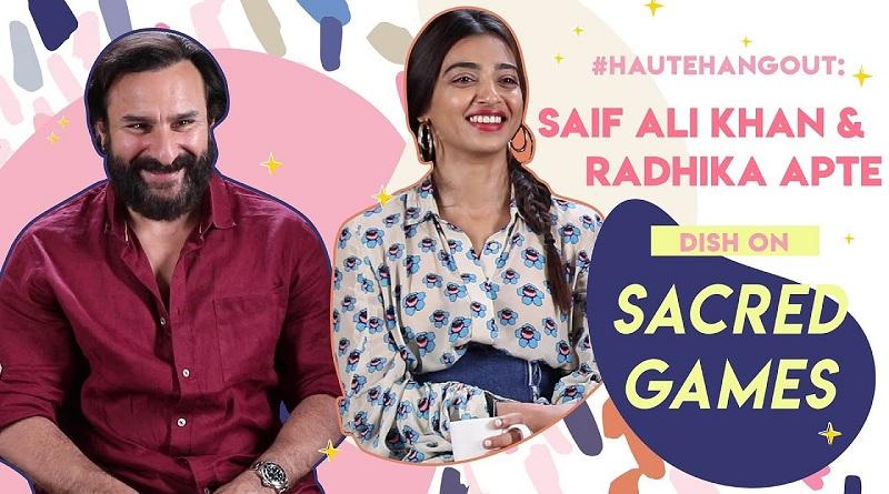 Saif Ali Khan & Radhika Apte
