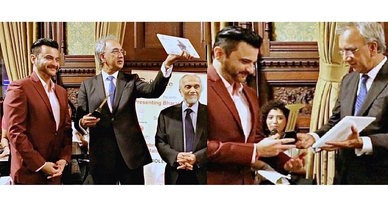 Санджай Капур удостоен премии «Самый вдохновляющий актер Болливуда» в Великобритании. Твиттер чтит его шутками.