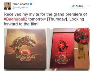 Твиттер Тарана Адарша