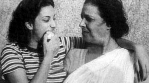Джадданбай с дочерью Наргис