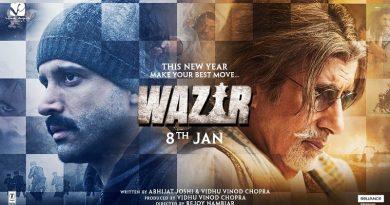Ферзь / Wazir (2016). Рецензия Роки Хинандани