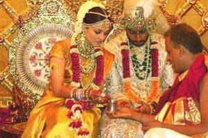 Айшвария Рай свадьба