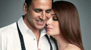 Акшай Кумар с женой