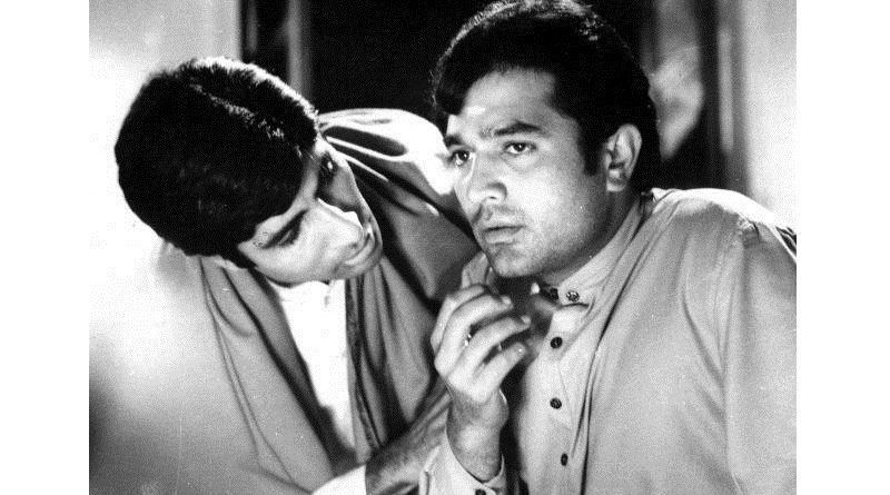 Амитабх Баччан и Раджеш Кханна