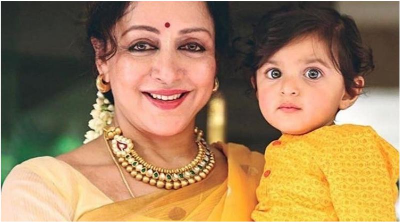 Дхармендра в 13-й раз стал дедушкой. Как выглядят его внуки с Хемой Малини