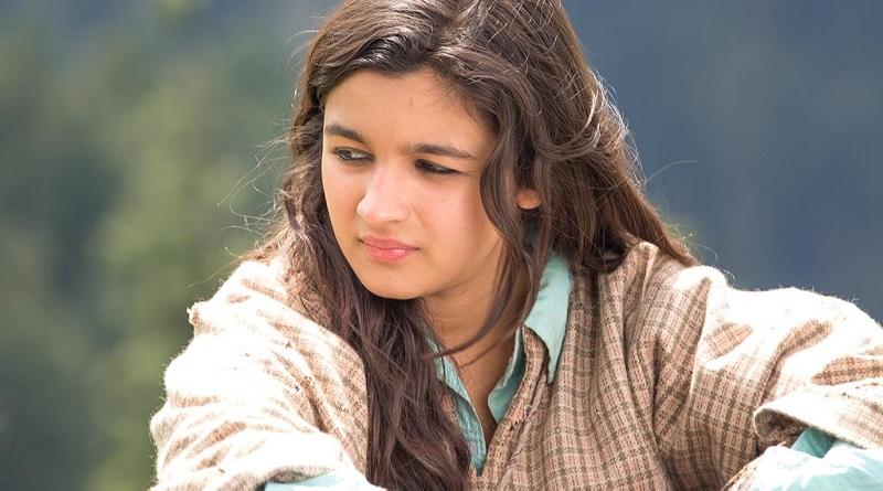 Алия Бхатт на съемках фильма Шоссе