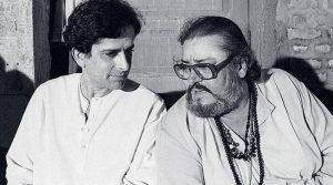 Шаши Капур со старшим братом Шамми