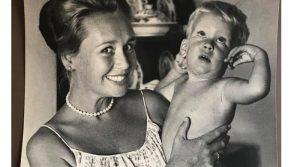 Каран с мамой Дженнифер, 1964 год