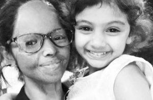 Лакшми с дочерью Пиху