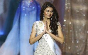 Суман Рао на конкурсе Мисс Мира