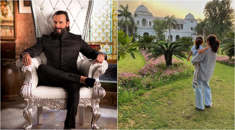 Роскошный дворец Саифа Али Кхана: как живёт актер из королевской семьи