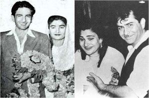 Радж Капур и Кришна Радж Капур