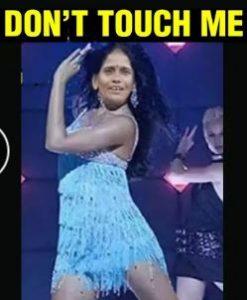 "Мем на Рану Мондал ака Катрина Каиф с песней ""Трогай меня"""