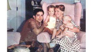 Шаши Капур и семья
