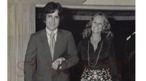 Шаши с женой Дженнифер