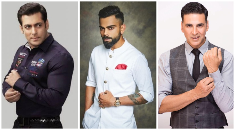 Список самых влиятельных индийских знаменитостей по версии Forbes
